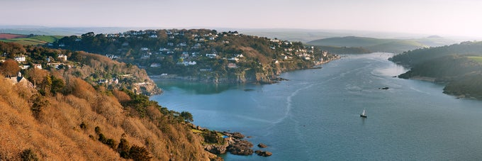 Image of Salcombe from Sharpitor