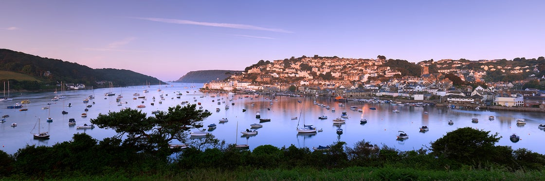 Image of Salcombe July Sunrise