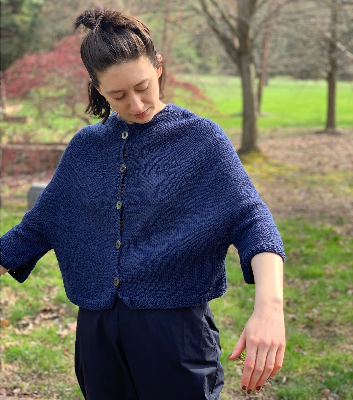 Image of Hiromi Hand Knit Cardigan
