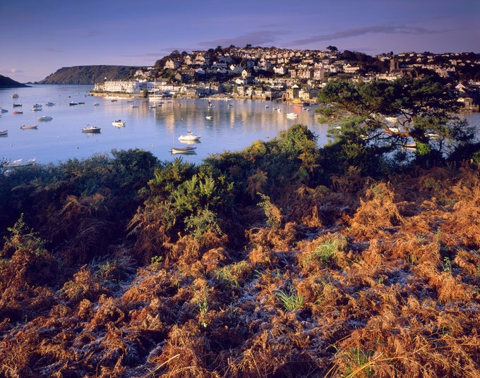 Image of Salcombe in Autumn