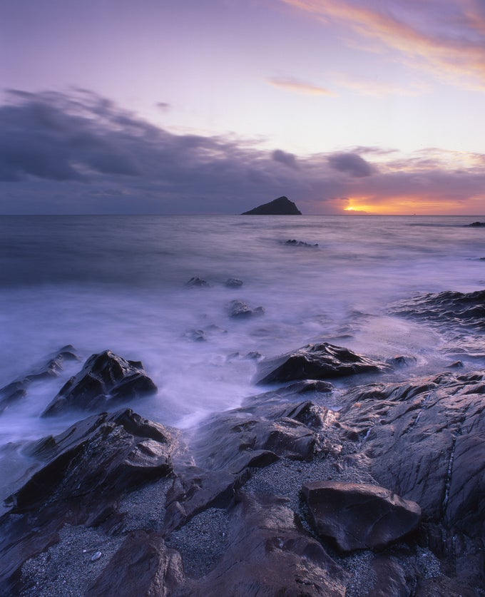 Image of Wembury at Sunset