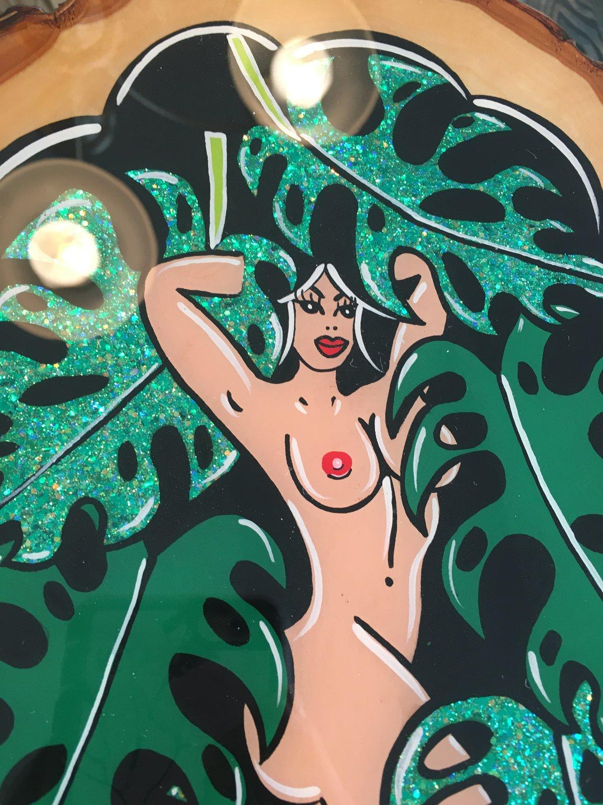 Image of Leafy lady