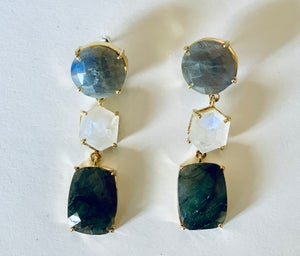 Image of Labradorite & Moonstone