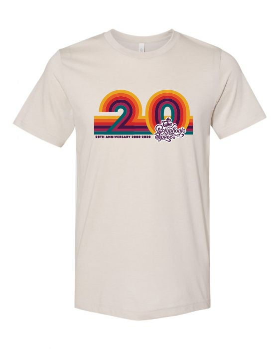 Image of 20th Anniversary Tan Adult T-Shirt