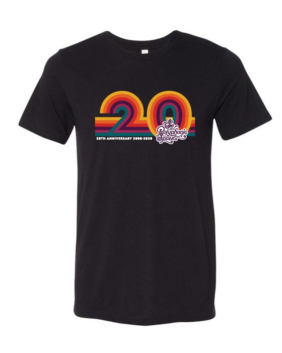 Image of 20th Anniversary Black Adult T-Shirt