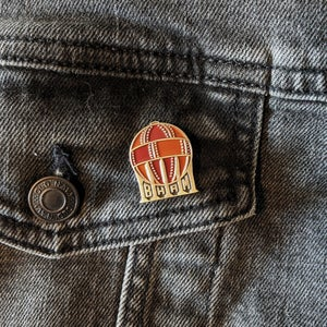 Image of Acid Ball Lapel Pin