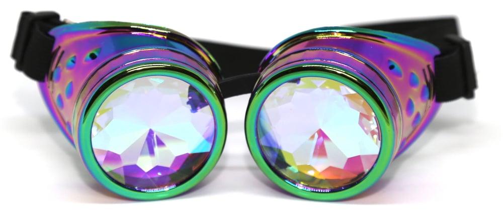 Image of Rainbow Burner Psy Goggles