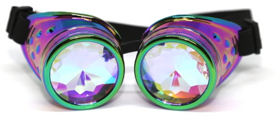 Image of Rainbow Burner Psy Goggles