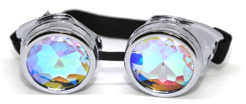Image of Silver Burner Psy Goggles