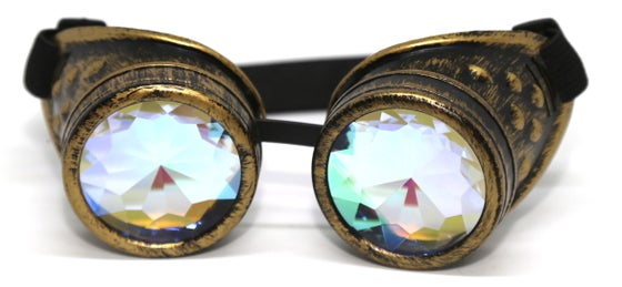 Image of Gold Burner Psy Goggles