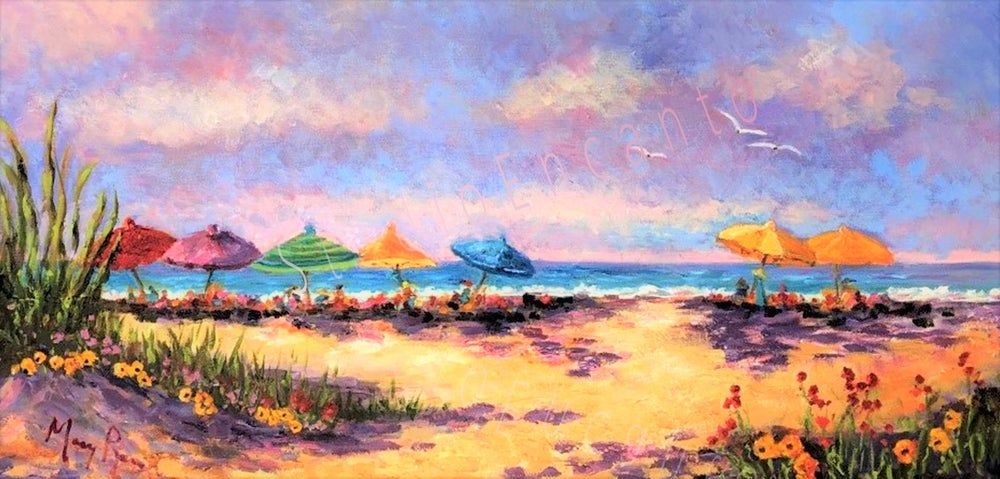 Image of Beach Memories by Mary Rose Holmes