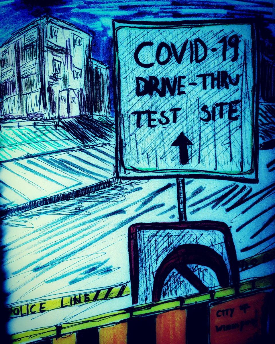 CORONA VIRUS DIARIES - TEST THIS WAY
