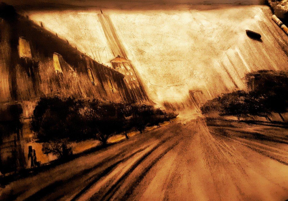 CORONA DIARIES STREET SCENE