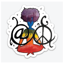 "Limited Edition ""At Peace"" Sticker"