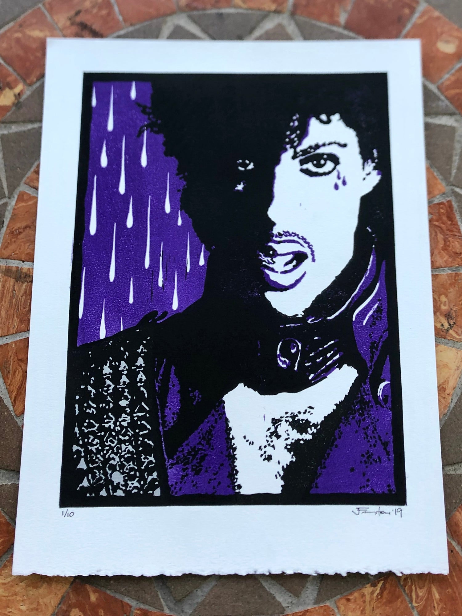 Image of Purple Rain v2 (4th Anniversary)