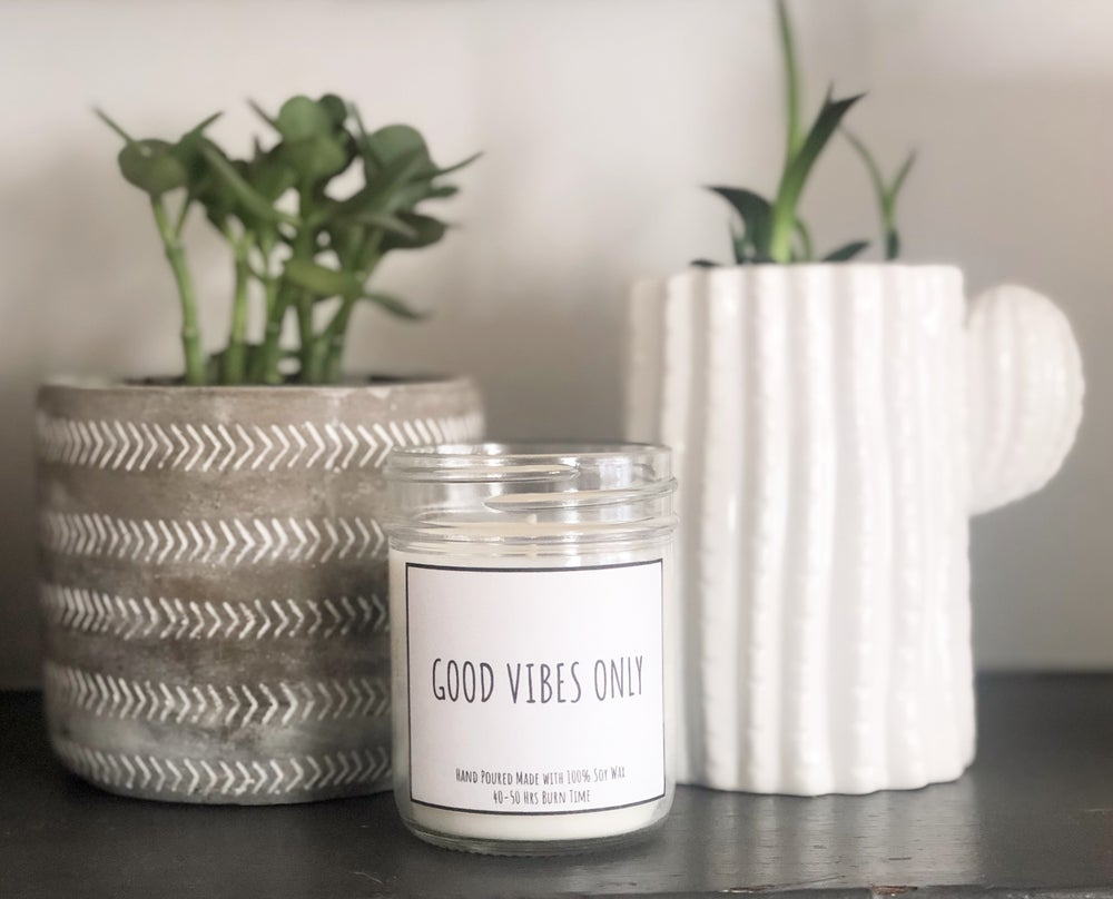 Image of GOOD VIBES ONLY CANDLE