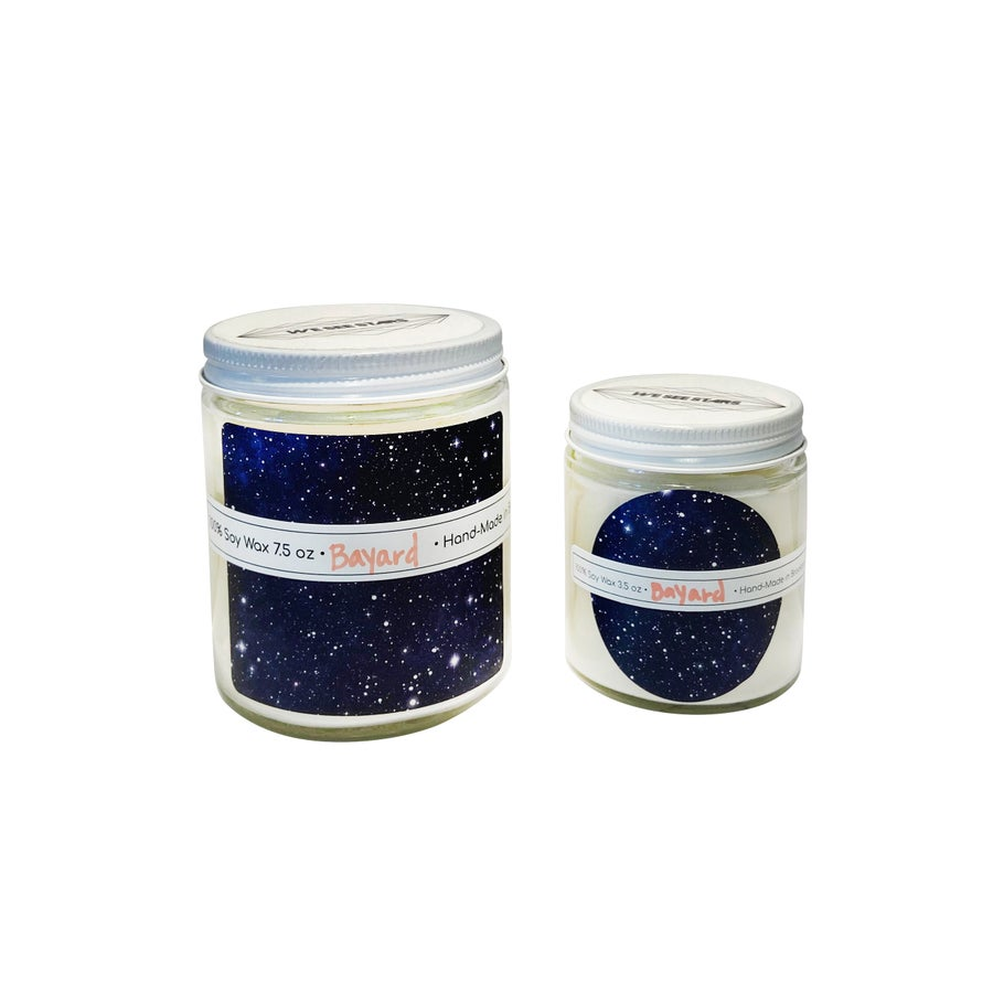 Image of We See Stars Hand Poured Candle: Bayard