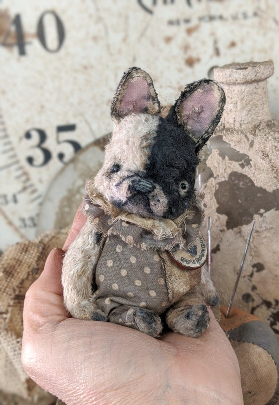 "Image of Teenie-Weenie 3.5"" French bulldog by whendis bears"