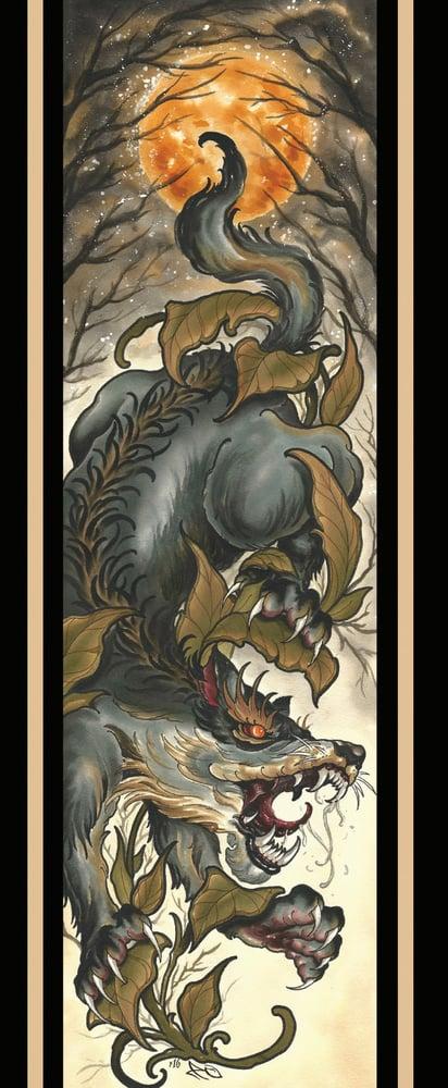 Image of Wolf print