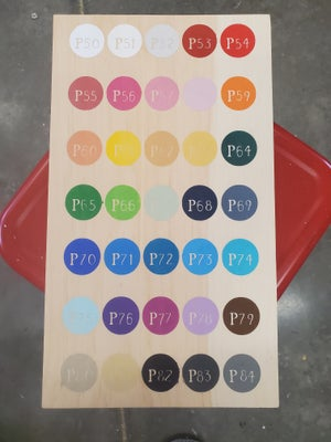 Image of Extra Interchangeable Circles for Frame Signs with Stand - Craft at Home Kit