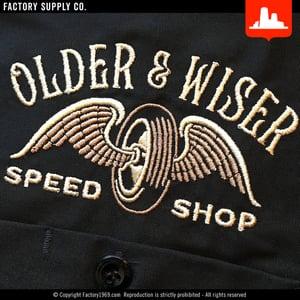 Older & Wiser OW017 - racer - Red Kap work shirt