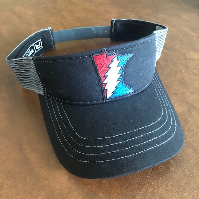 Image of Stateful MN Visor - Black & Gray