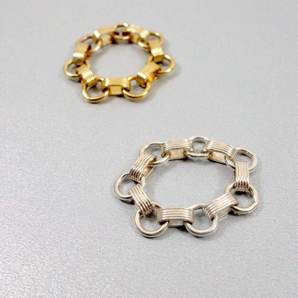 Image of xo chain ring