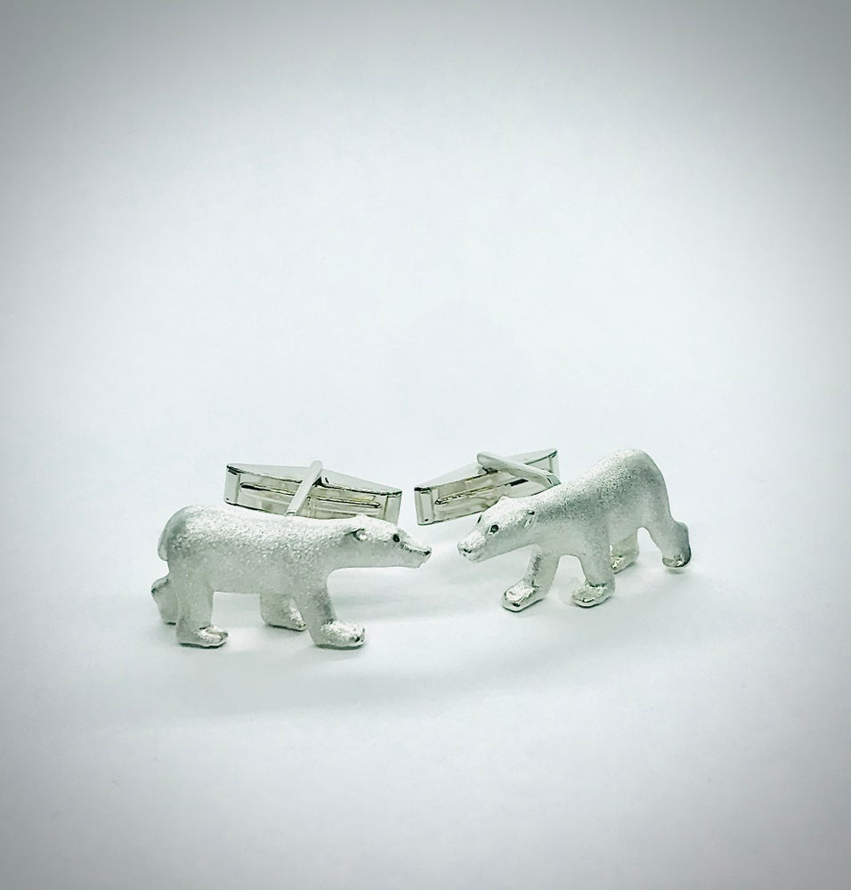Image of Polar Bear Cufflinks