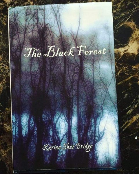 "Image of ""The Black Forest"" Gothic Poetry Book by Karina A Sher"