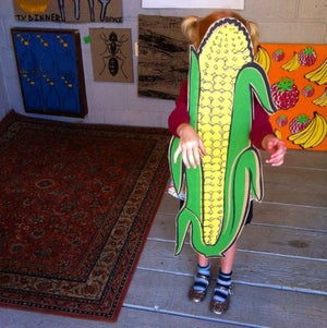 Image of Super Sweetcorn by Charlie Evaristo-Boyce