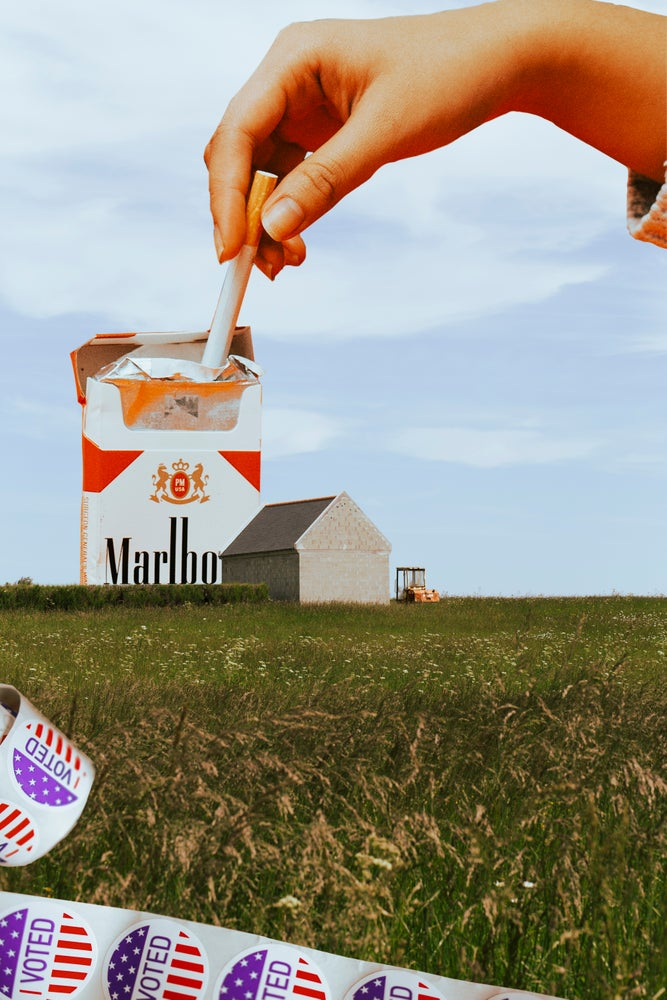 Image of Cigarette Collage
