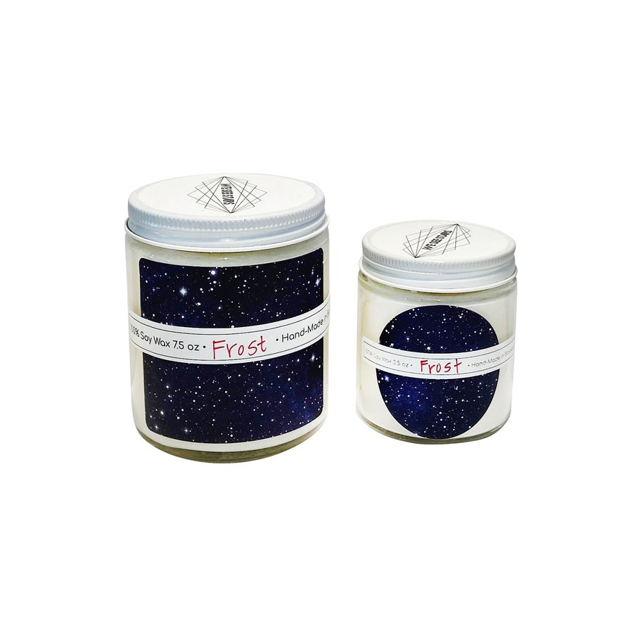 Image of We See Stars Hand Poured Candle: Frost