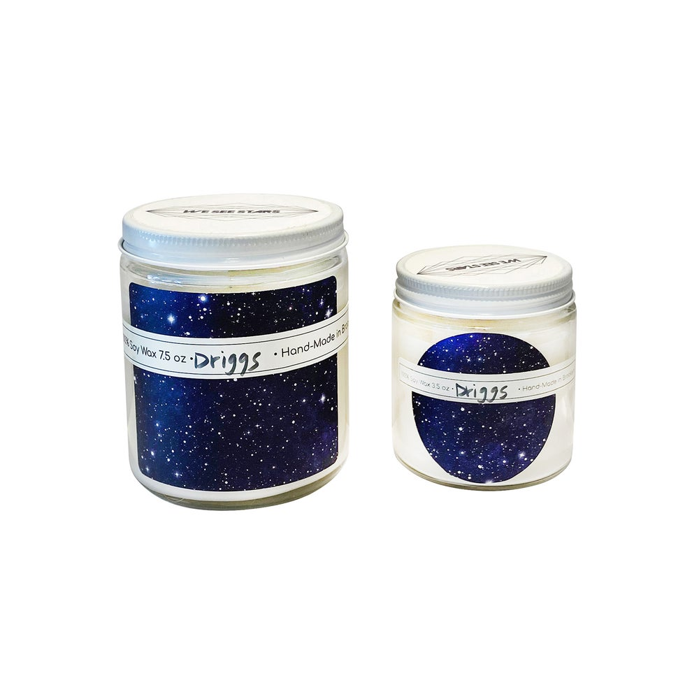 Image of We See Stars Hand Poured Candle: Driggs