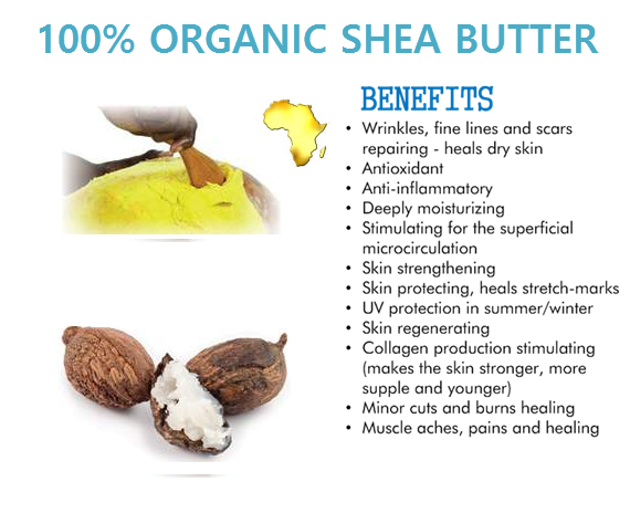 """Image of Shea butters """" made in Africa"""""""