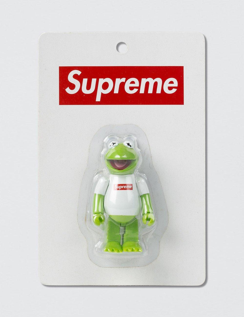 Image of Supreme x Medicom Toy Kermit The Frog Kubrick