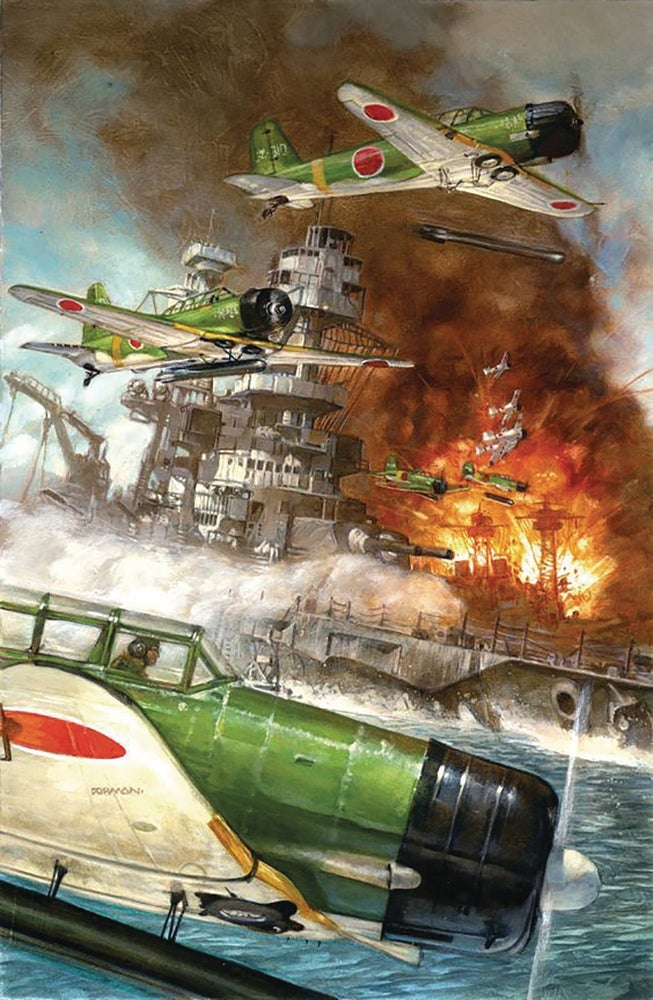 Image of PEARL HARBOR: FROM THE PAGES OF COMBAT (Dave Dorman variant cover)