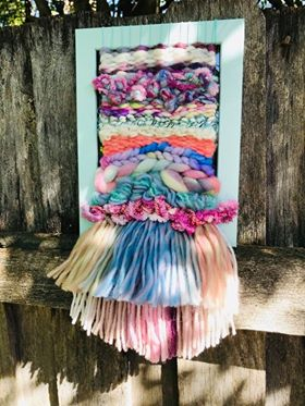 I've Got You Framed Weavings-Pastel Delight