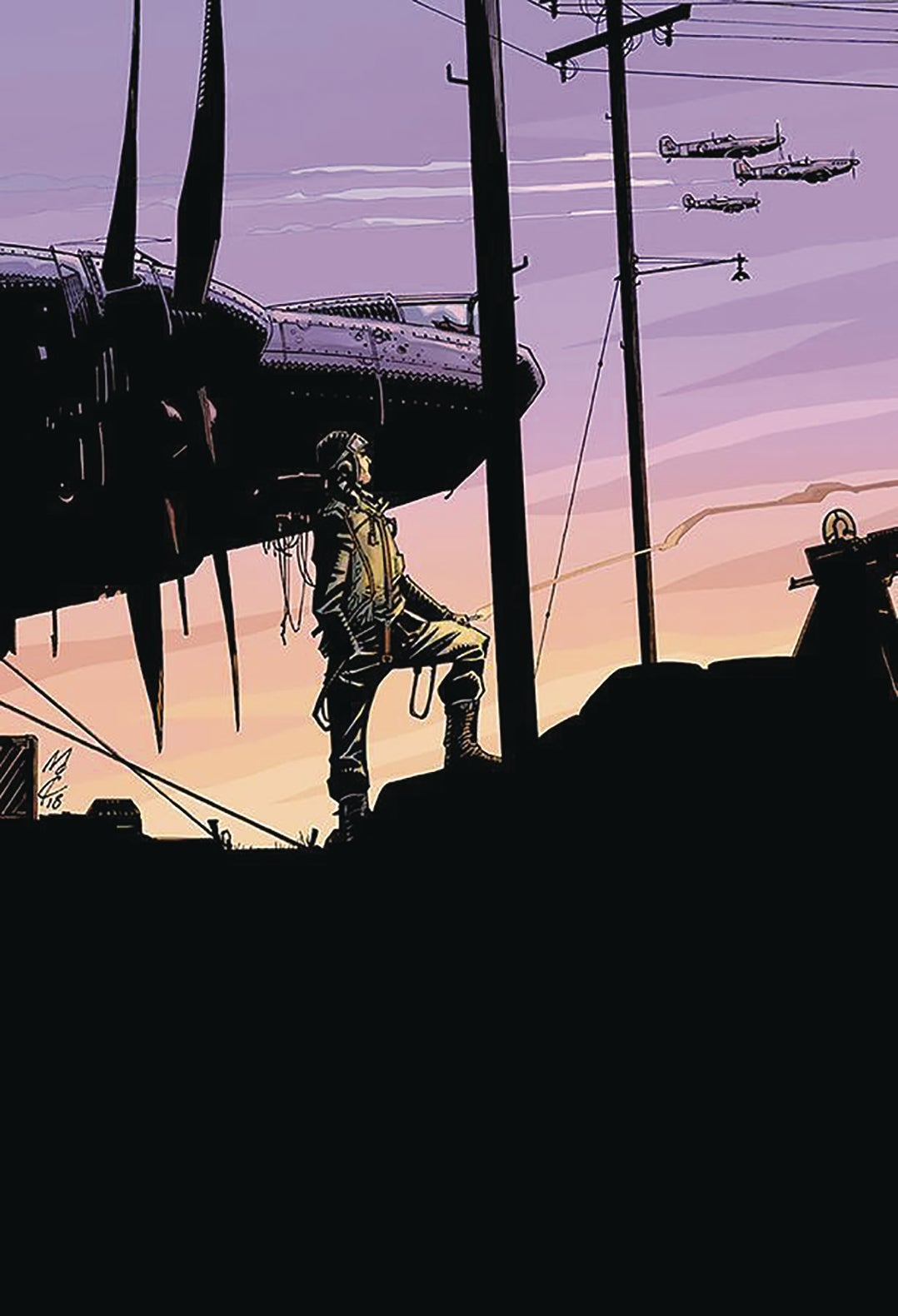 Image of BATTLE FOR BRITAIN: FROM THE PAGES OF COMBAT (John McCrea variant cover)