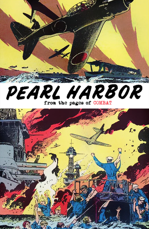 Image of PEARL HARBOR: FROM THE PAGES OF COMBAT (Sam Glanzman variant cover)
