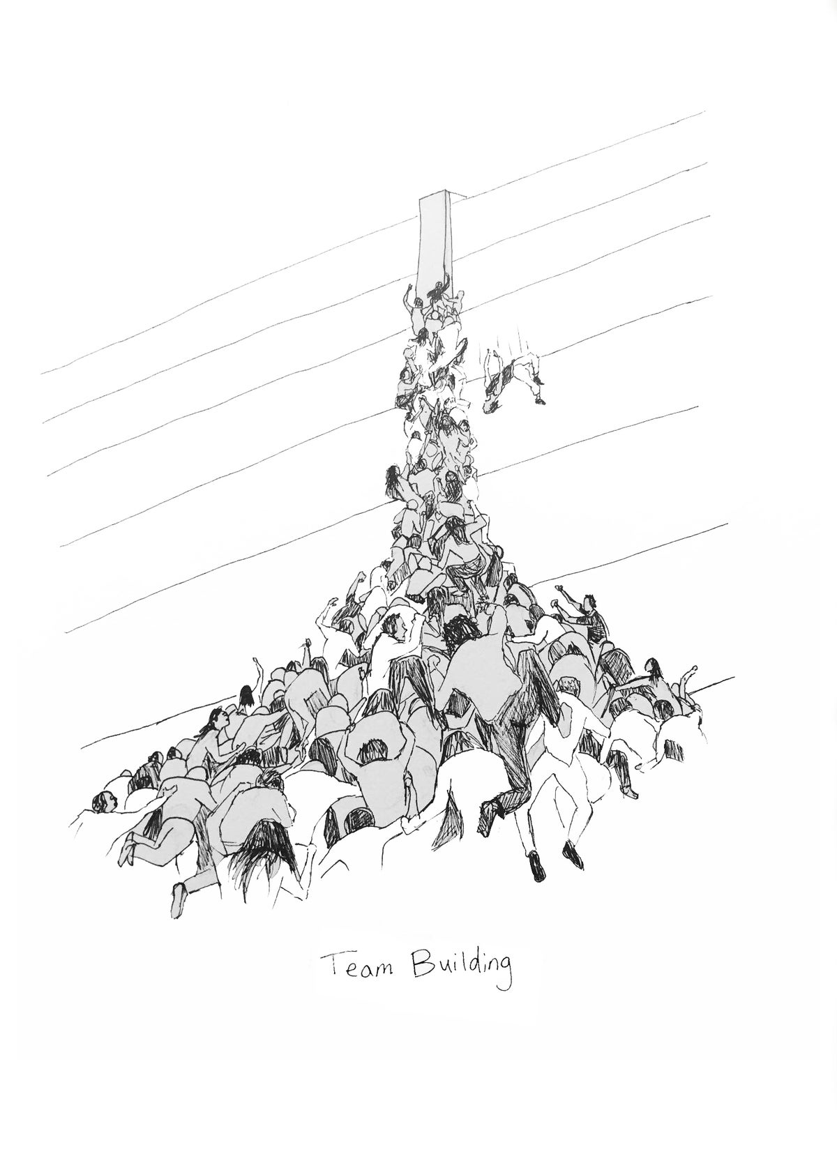 Team Building Print