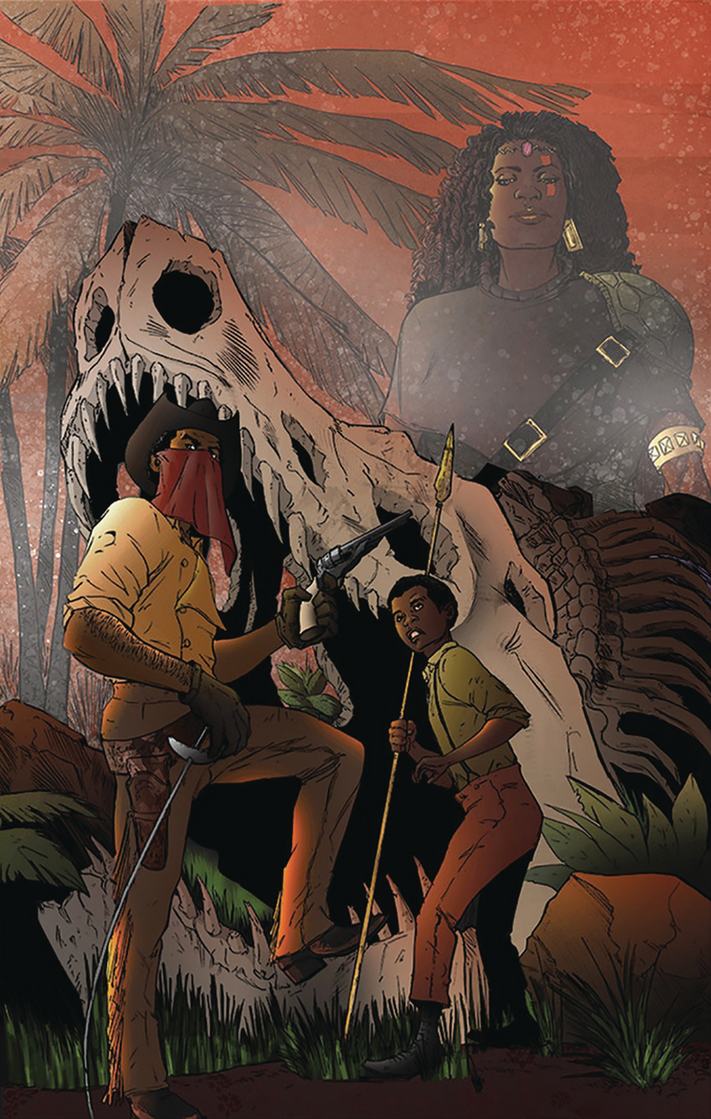 Image of RED RANGE: PIRATES OF FIREWORLD (N. Steven Harris variant cover)