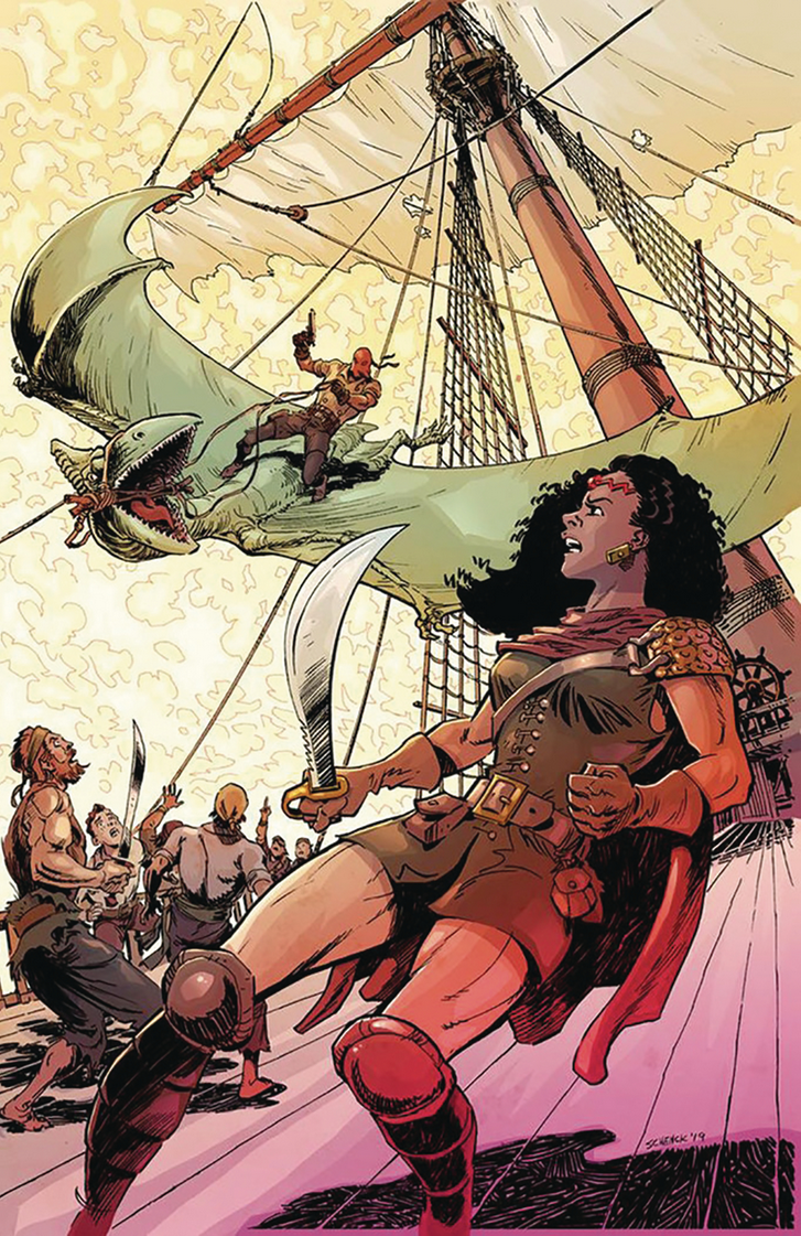 Image of RED RANGE: PIRATES OF FIREWORLD (Christopher Schenck variant cover)