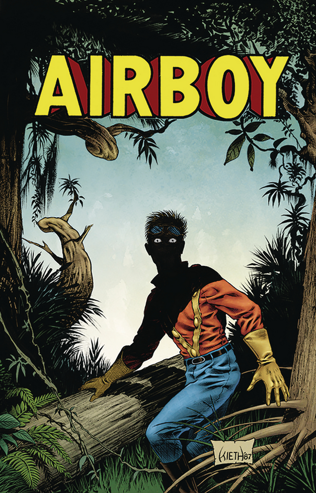 Image of AIRBOY #51 (Sam Kieth variant)