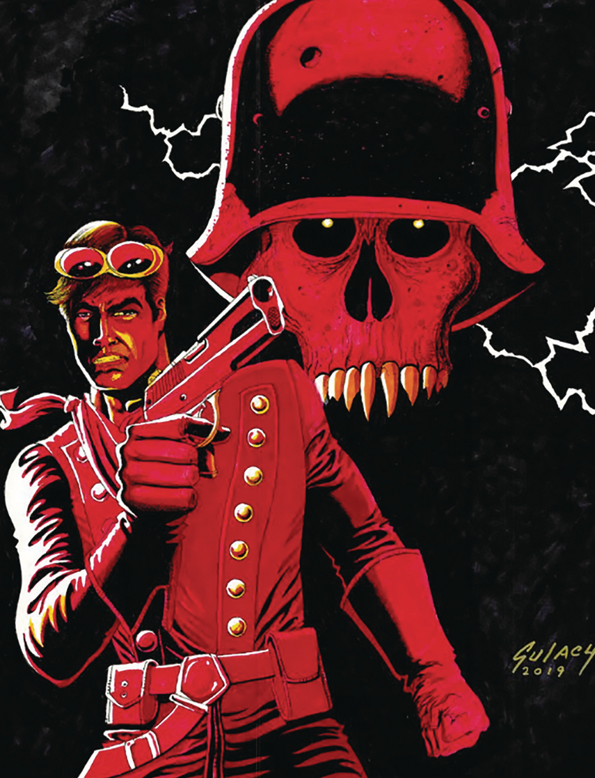 Image of AIRBOY #51 (Paul Gulacy variant)