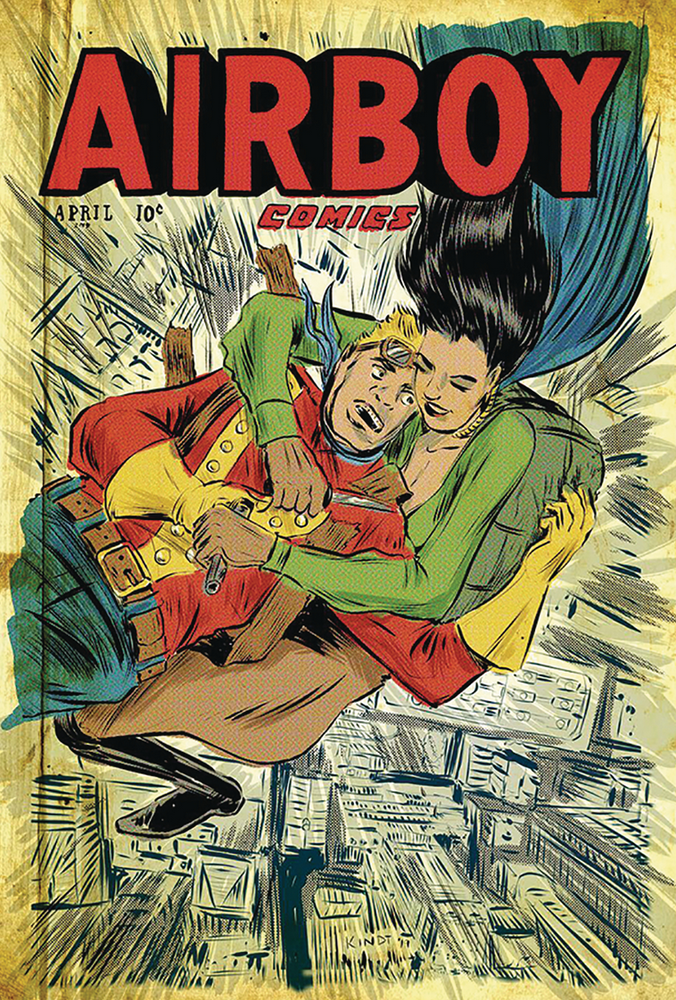 Image of AIRBOY #51 (Matt Kindt variant)