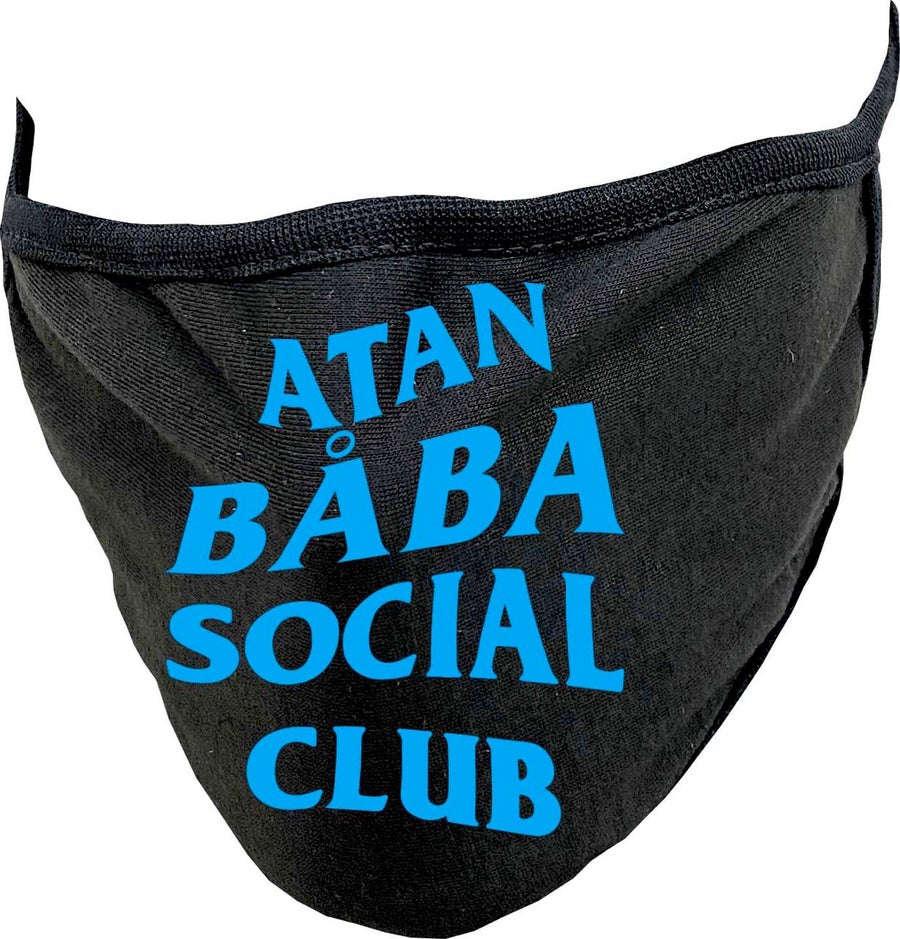 Image of ATAN BABA SOCIAL CLUB MASK