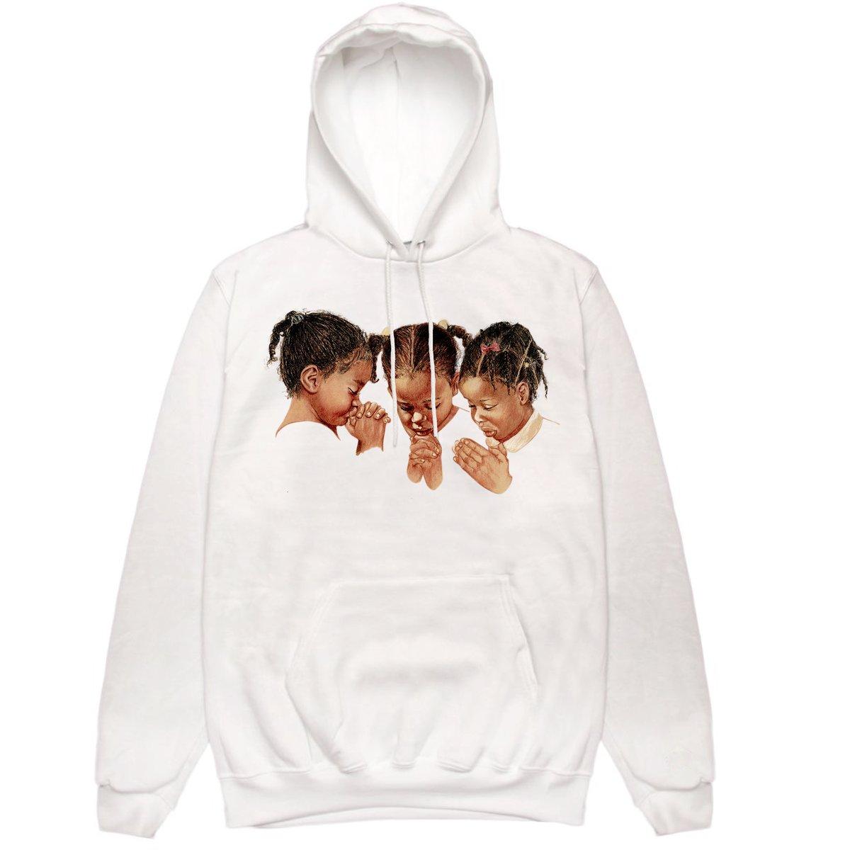 Image of 3girls White Hoodie
