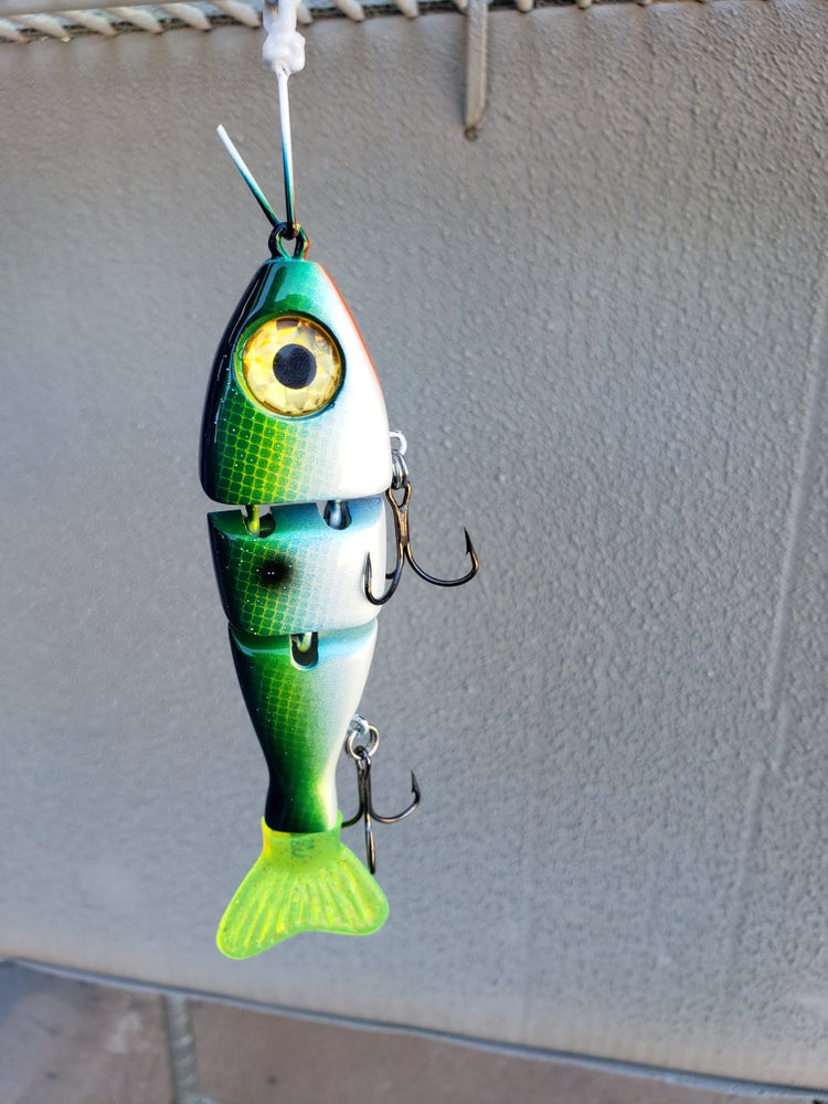 Image of 5 inch Stubby. Citrus Shad.