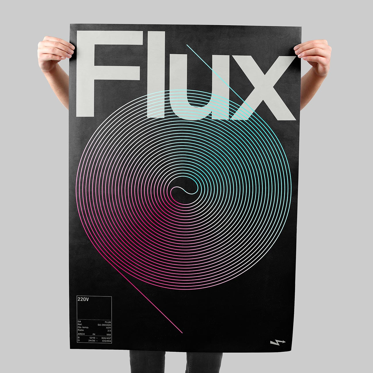 Flux SIGNAL A poster by Xtian Miller