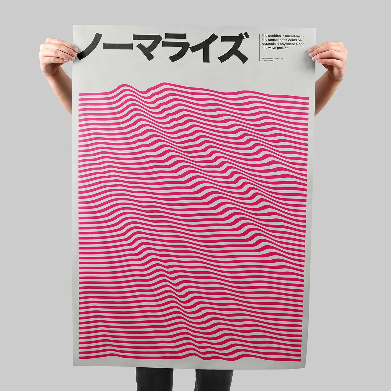 Delineation: Normalize SIGNAL A poster by Xtian Miller